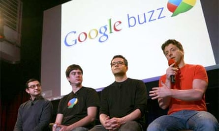 Google Buzz launch