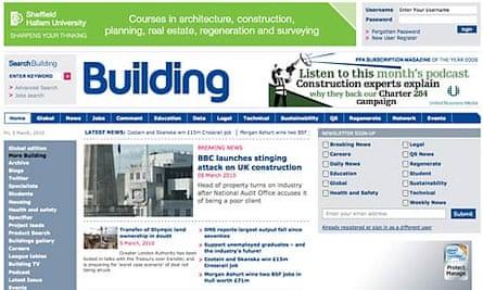 Building magazine website