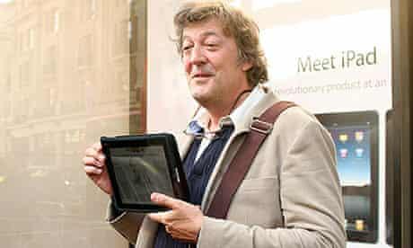 Stephen Fry iPad
