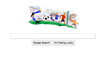 Google World Cup doodle