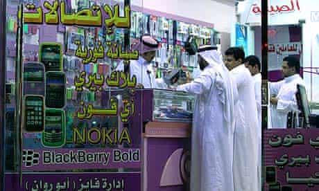 Saudi BlackBerry