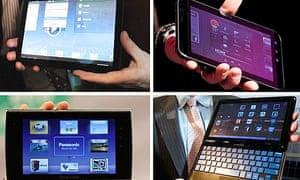 Tablets CES 2011