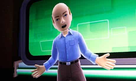 Ballmer Kinect avatar