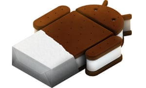 Android 4.0 'Ice Cream Sandwich' logo