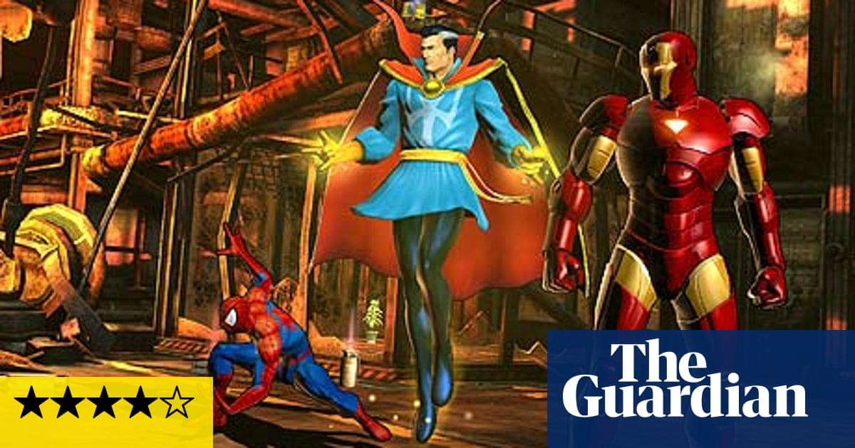 Ultimate Marvel vs Capcom 3 – review   Games   The Guardian