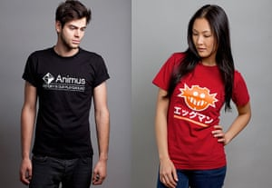 Games Xmas gift guide: Insert Coin Tees