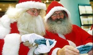 Santa gaming
