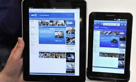 iPad Galaxy
