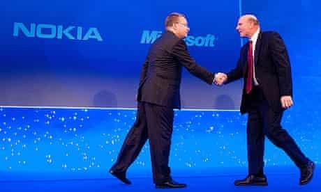 Nokia Elop-Ballmer