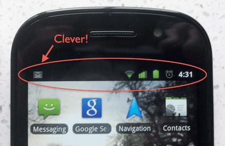 Google Nexus S detail