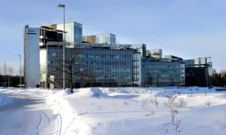 Nokia headquarters in Espoo, Finland