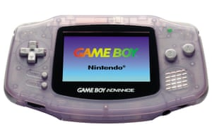 Handheld games consoles: Game Boy Advance