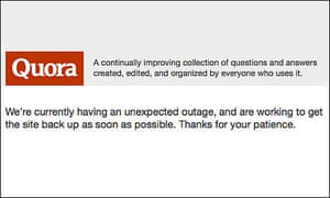 Quora outage