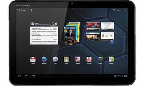 Motorola Xoom tablet