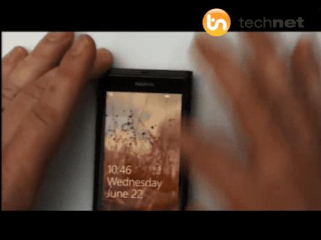 Nokia Windows Phone prototype
