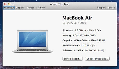 Mac OS X Lion: in-depth review with pictures | Technology | The Guardian