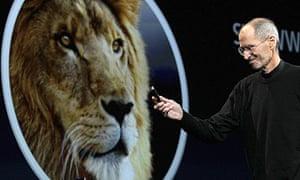 Steve Jobs Lion