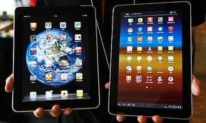 Galaxy Tab iPad