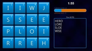 Windows 8 Word Hunt game