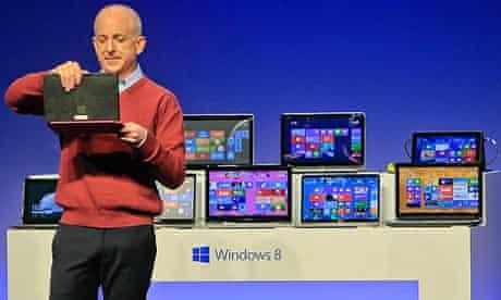 Microsoft Previews Windows 8 In Shanghai
