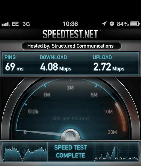 3G EE test