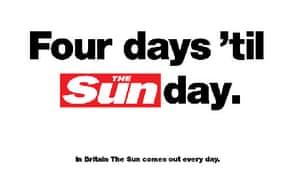 Sun on Sunday press ad