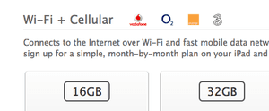 iPad 'Cellular' not '4G' in UK Apple store