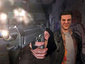 Cop video games: Max Payne 1