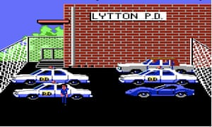 Cop video games: Police Quest