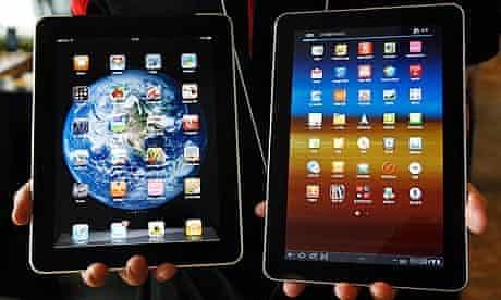 iPad Galaxay tablets