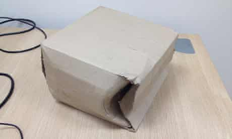 Google Nexus 7 damaged box
