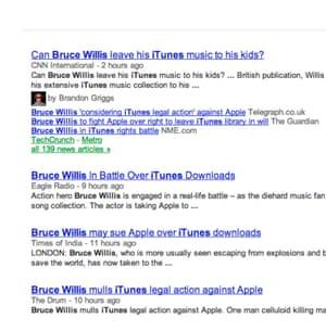 Bruce Willis stories on Google News