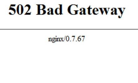 Roblox Cant Join Game Instance Html 502 Bad Gateway Error What To Do When You Can T Get Through To A Website Computing The Guardian