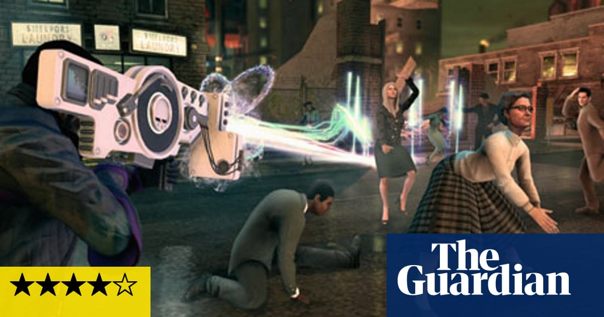 Saints Row 4 – review | Games | The Guardian