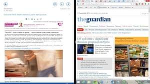 Windows 8.1: Split screen