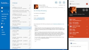 Windows 8.1: contacts