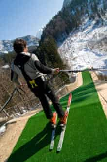 Bungee ski