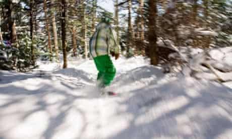 Stratton snowboarding