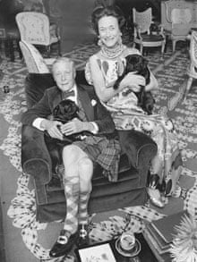 Duke and Duchess of Windsor with Their Pugs