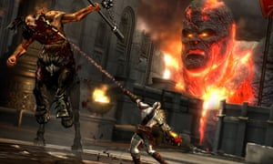 God Of War Iii Game Review Games The Guardian