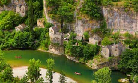 France Languedoc Gorges of Tarn Cevennes National Park