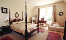 Coolatore House bedroom where Jackson slep
