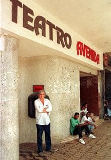 Henning Mankell in Maputo