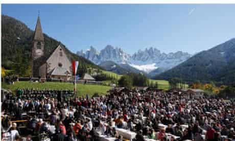 St Magdalena's speck festival
