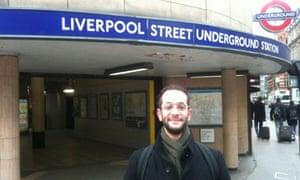 Benji Lanyado Twitter trip in London