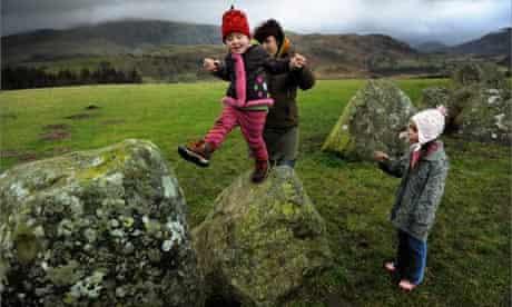 Castlerigg Stone Circle, Cumbria.