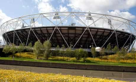 Olympic Park in bloom