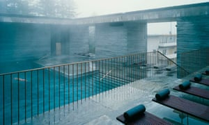 Spa at Hotel Therme in Vals.