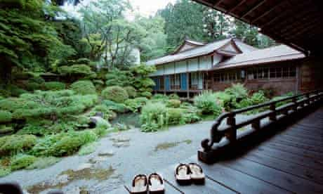 A typical Japanese onsen, or hot spring