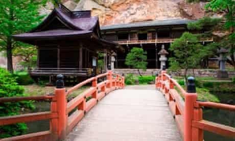 Bishamon-do Temple in Hiraizumi.
